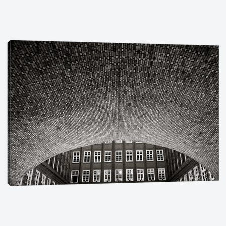 Brick World Canvas Print #OXM3388} by Christian Scharer Canvas Artwork
