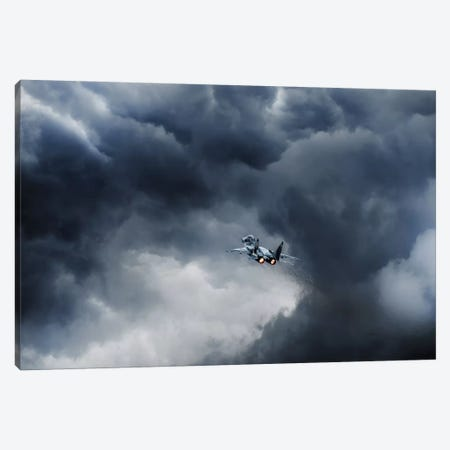 Into The Inferno Canvas Print #OXM338} by Leon Canvas Artwork