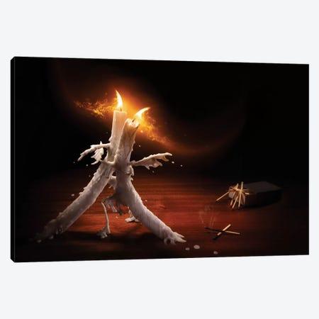 Candlelight Tango Canvas Print #OXM3392} by Christophe Kiciak Art Print