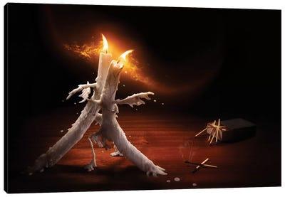 Candlelight Tango Canvas Art Print