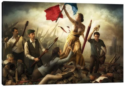 Liberté d'Expression Canvas Art Print