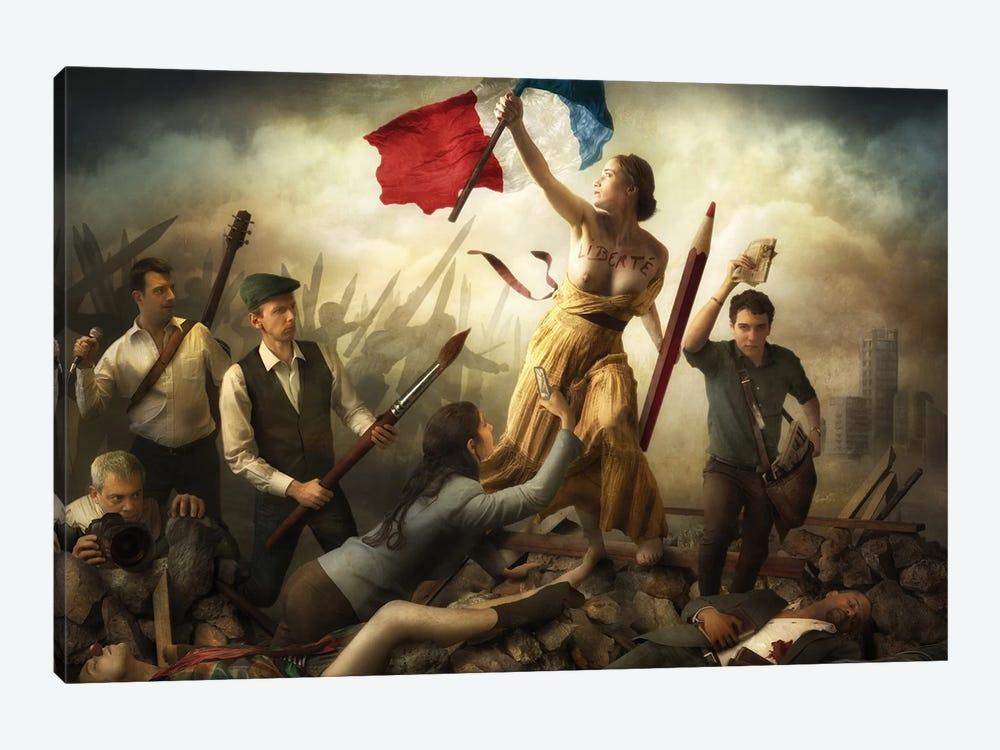 Liberté d'Expression by Christophe Kiciak 1-piece Canvas Art