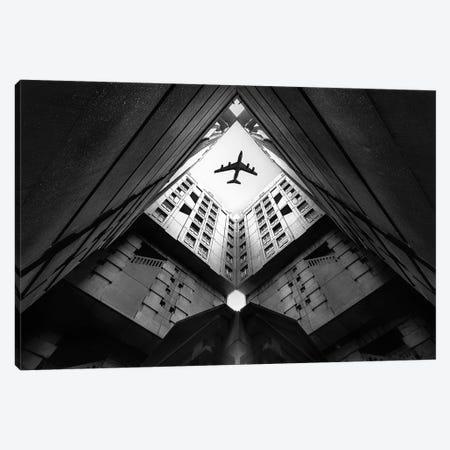 Plane City Canvas Print #OXM3403} by Correy Christophe Canvas Art Print
