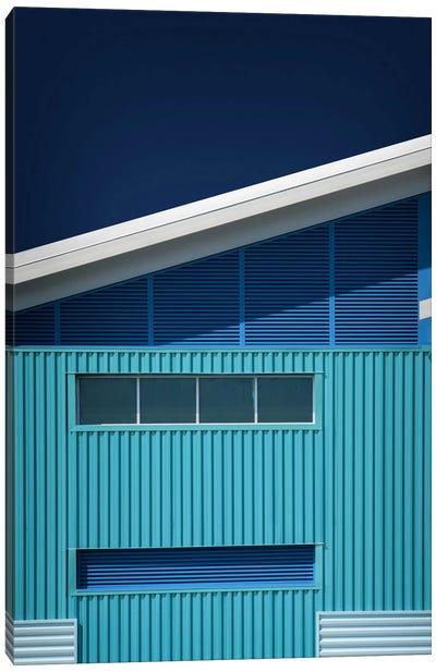 Blue White Blue White Canvas Art Print
