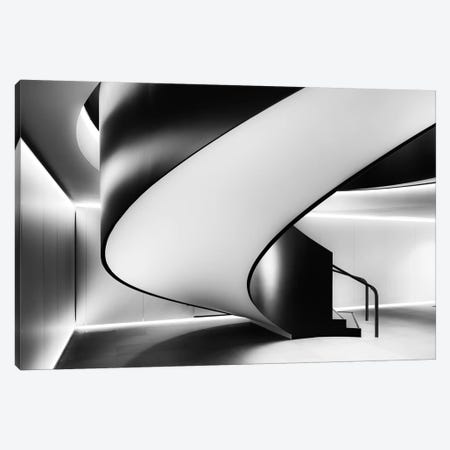 Staircase Canvas Print #OXM3410} by Darren Kelland Canvas Wall Art