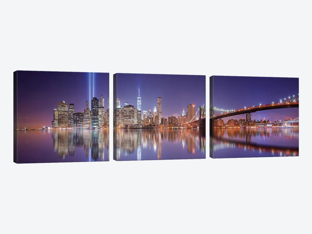 In Memorial by David Martín Castán 3-piece Canvas Art Print
