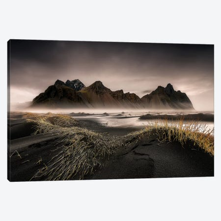 Stokksnes Canvas Print #OXM3416} by David Martín Castán Canvas Print