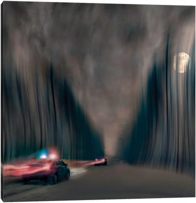 Night Pursuit Canvas Art Print