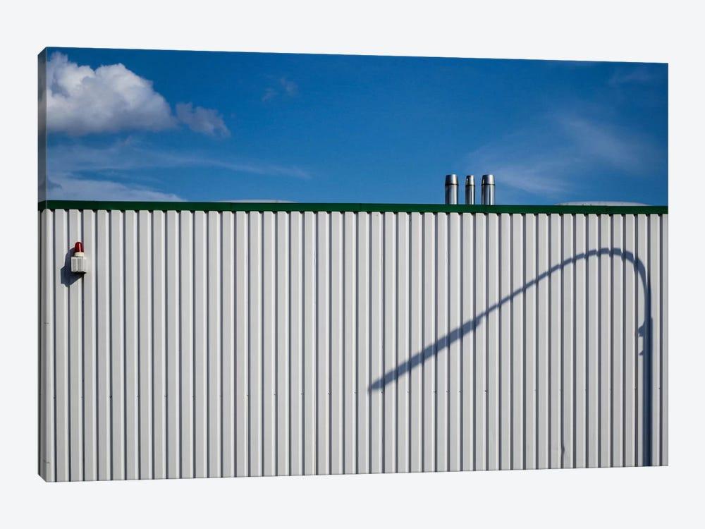 The Streetlights Shadow by Arne Margenfeld 1-piece Canvas Artwork