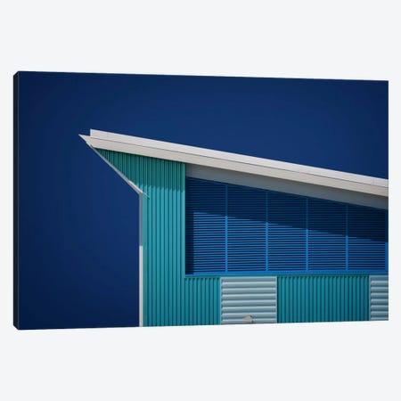 Rhapsody In Blue Canvas Print #OXM343} by Mathilde Guillemot Canvas Art Print