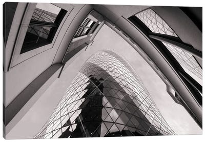 Gherkin Canvas Art Print