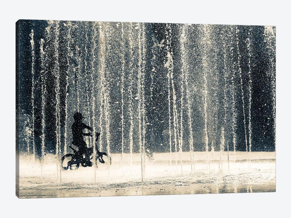 Ride Through The Drops by Ehsan Razzazi 1-piece Canvas Art