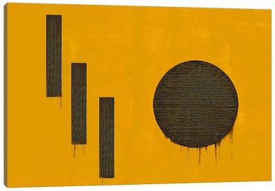 Orange 1110 Canvas Art Print