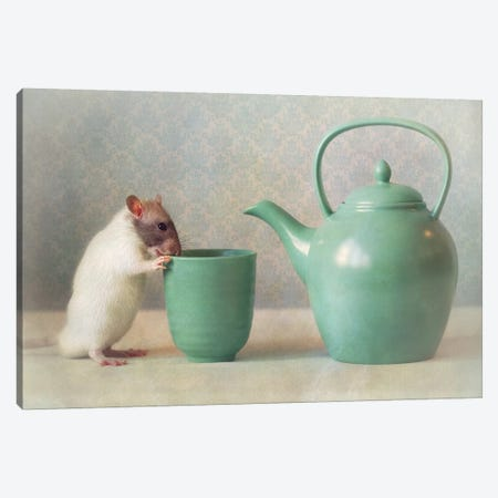 The Teapot Canvas Print #OXM3466} by Ellen van Deelen Canvas Wall Art