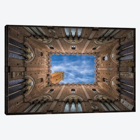 Palazzo Pubblico - Siena Canvas Print #OXM348} by Frank Smout Images Art Print