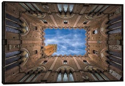 Palazzo Pubblico - Siena Canvas Print #OXM348