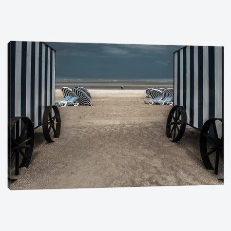 La Visite 3-Piece Canvas #OXM3505} by Gilbert Claes Art Print