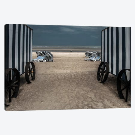 La Visite Canvas Print #OXM3505} by Gilbert Claes Art Print