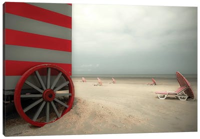 Red Wagon Canvas Art Print