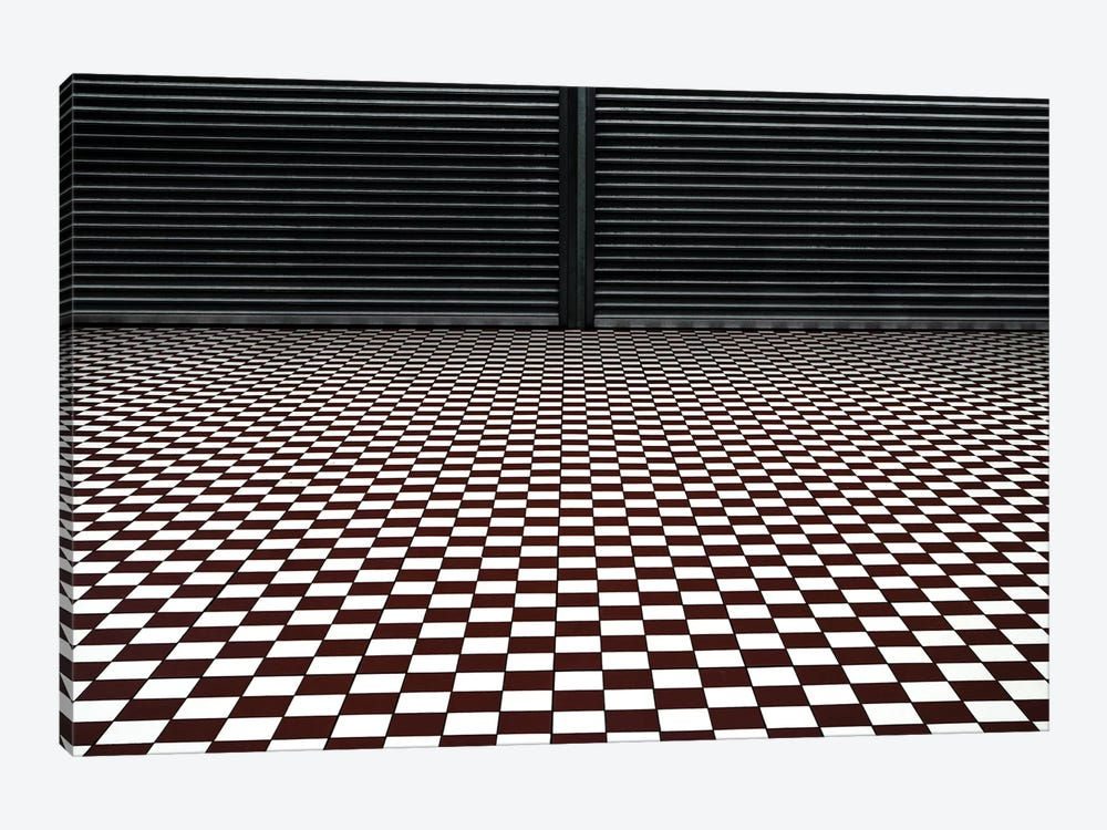 The Hypnotic Floor by Gilbert Claes 1-piece Canvas Wall Art
