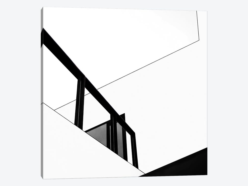 The Railing by Gilbert Claes 1-piece Canvas Artwork