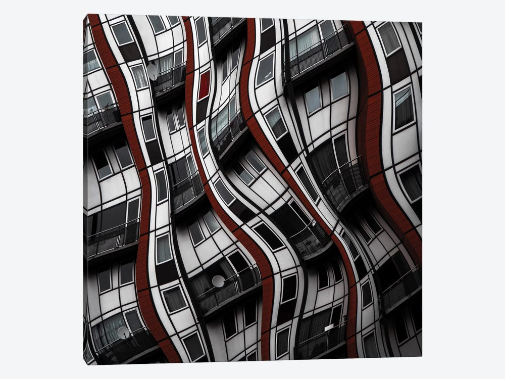 The Red Curtain by Gilbert Claes 1-piece Canvas Print