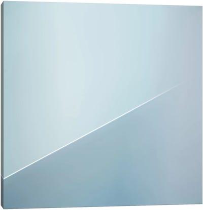 The White Line Canvas Art Print