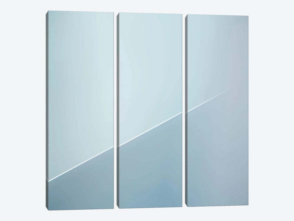 The White Line by Gilbert Claes 3-piece Canvas Art