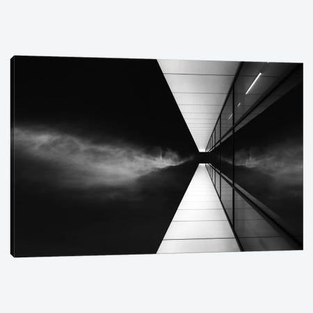 Cloud Attack Canvas Print #OXM351} by Jeroen van de Wiel Canvas Artwork