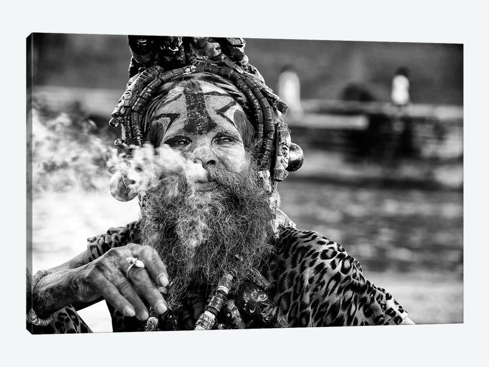 Ganga Baba by Goran Jovic 1-piece Canvas Artwork
