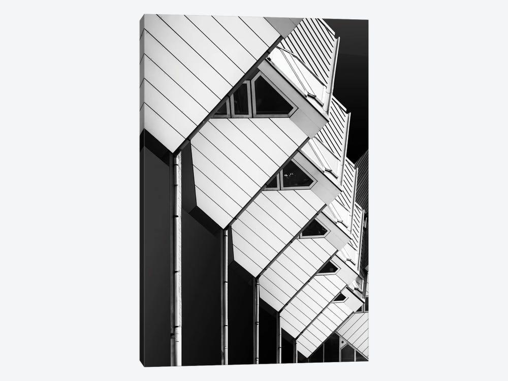 Living On Piles by Greetje van Son 1-piece Canvas Art Print