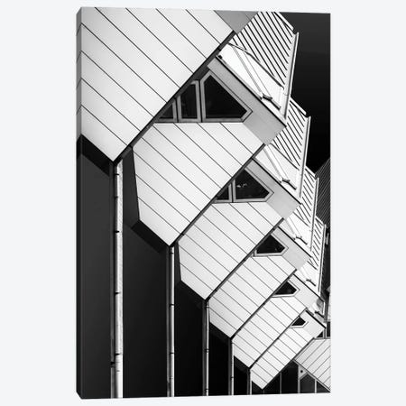 Living On Piles 3-Piece Canvas #OXM3531} by Greetje van Son Canvas Art Print