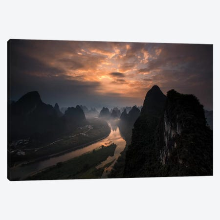 Land Of The Gods II Canvas Print #OXM3534} by Gunarto Song Canvas Artwork