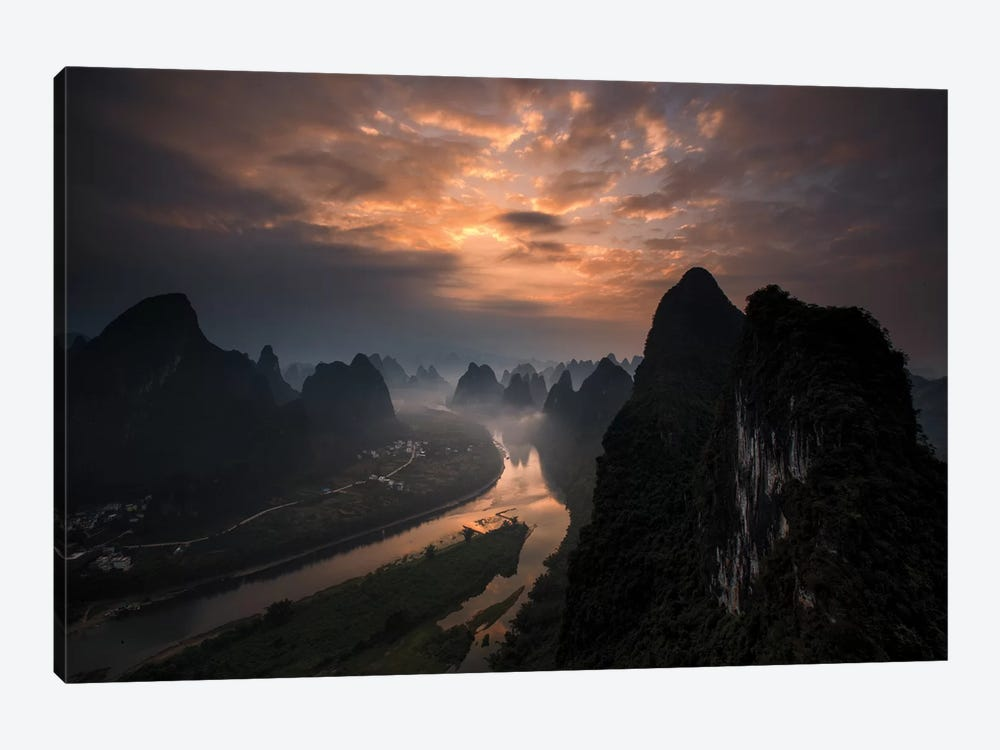 Land Of The Gods II by Gunarto Song 1-piece Canvas Artwork
