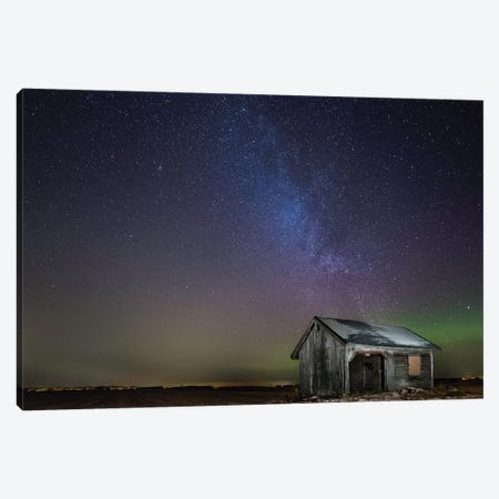 Nasty Light Pollution Canvas Print #OXM3539} by Harri Aho Art Print