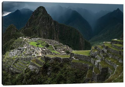 Machu Picchu, Peru Canvas Art Print