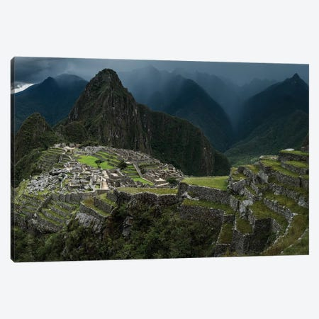 Machu Picchu, Peru Canvas Print #OXM3547} by Helena Normark Art Print