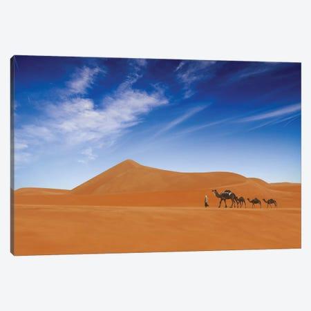 Desert Life .. Canvas Print #OXM3562} by Hesham Alhumaid Canvas Art