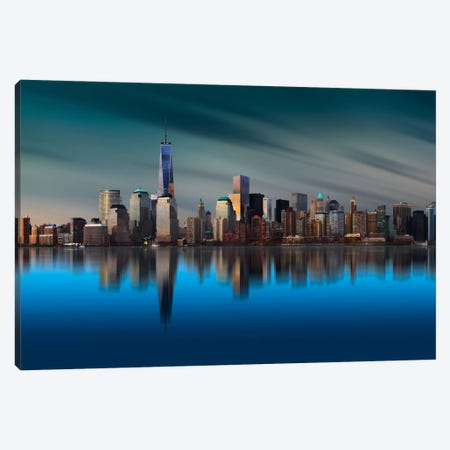 New York World Trade Center 1 Canvas Print #OXM356} by Yi Liang Art Print