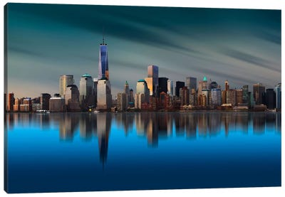 New York World Trade Center 1 Canvas Art Print