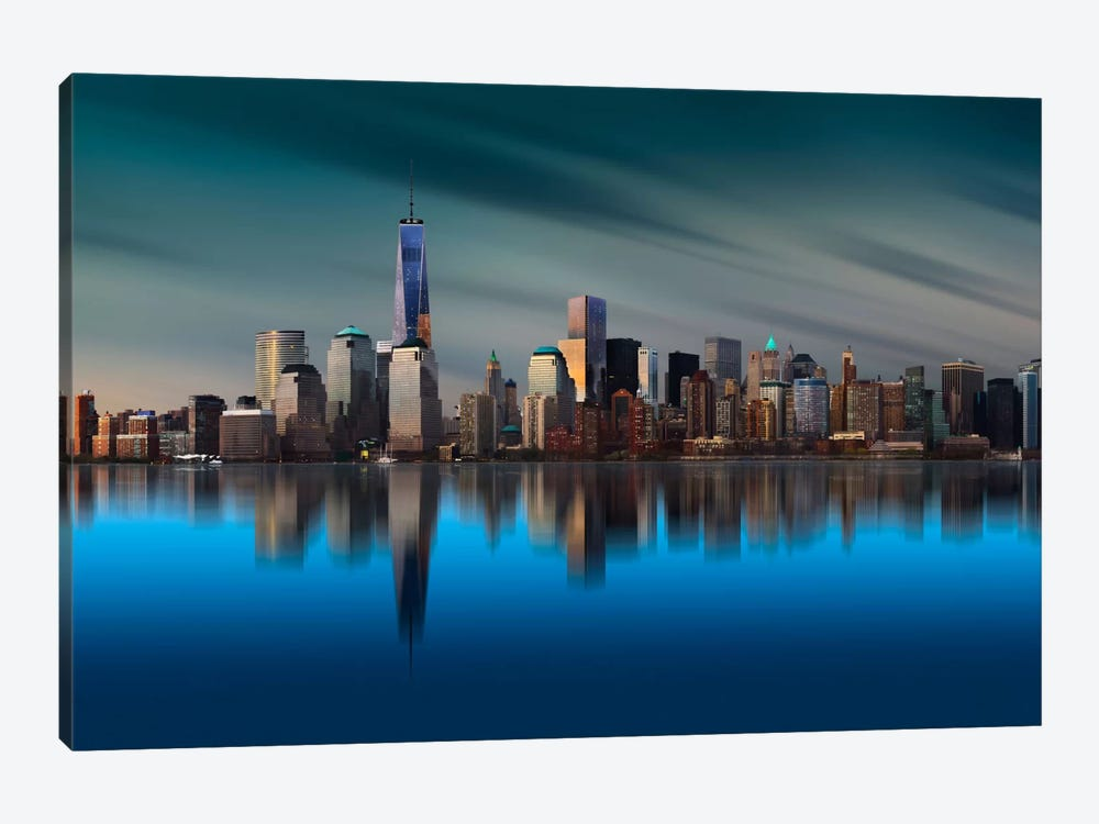 New York World Trade Center 1 by Yi Liang 1-piece Canvas Artwork