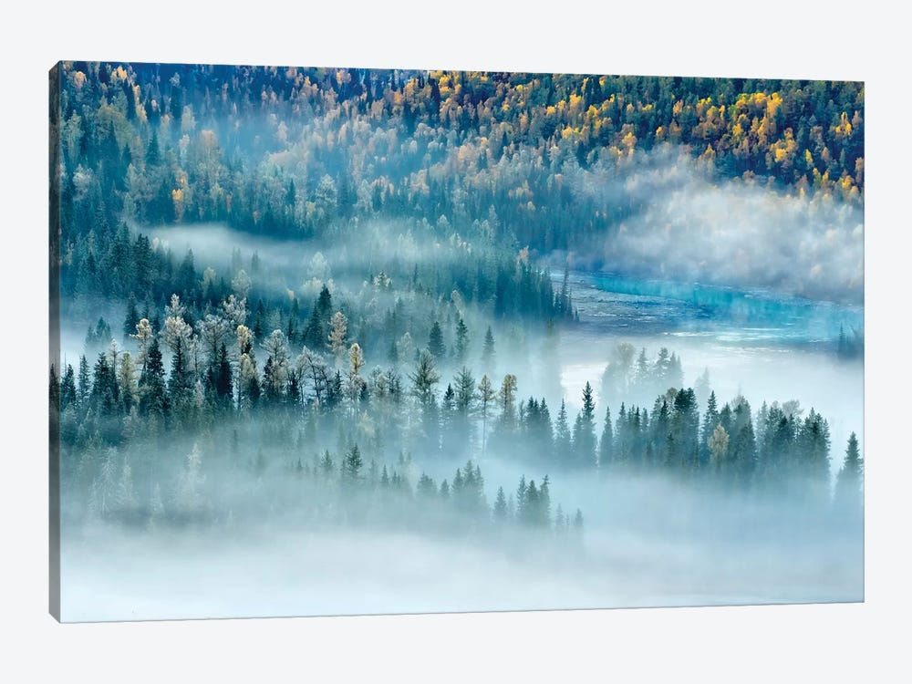 Magic Bay by Hua Zhu 1-piece Canvas Artwork