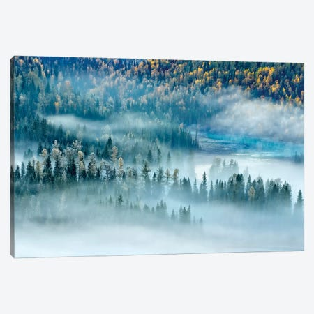 Magic Bay 3-Piece Canvas #OXM3570} by Hua Zhu Art Print