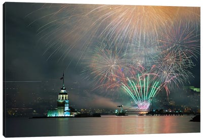 Celebration Canvas Art Print