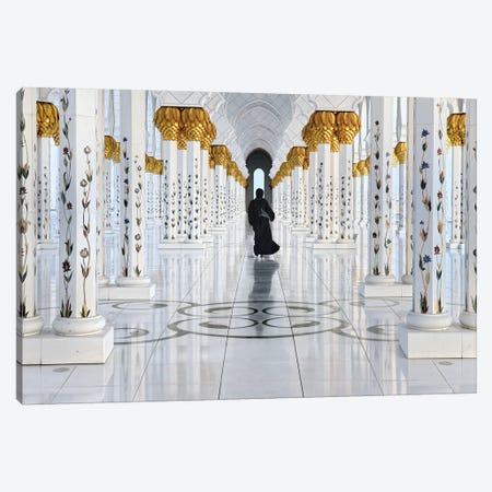 Golden Walk Canvas Print #OXM3590} by Izidor Gasperlin Canvas Print