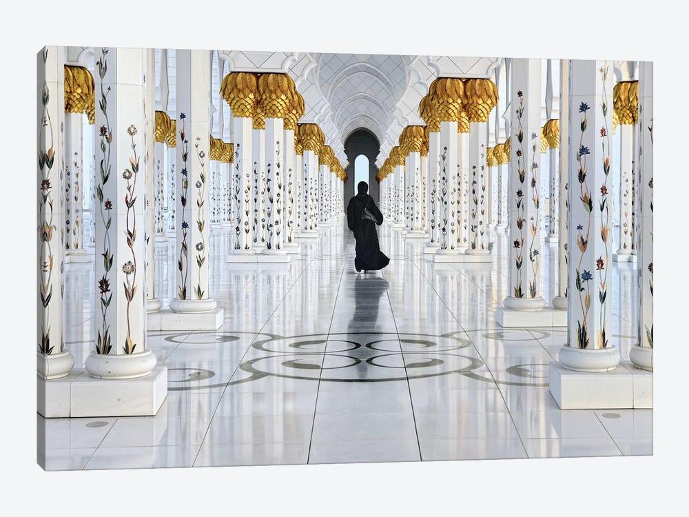 Golden Walk by Izidor Gasperlin 1-piece Canvas Art