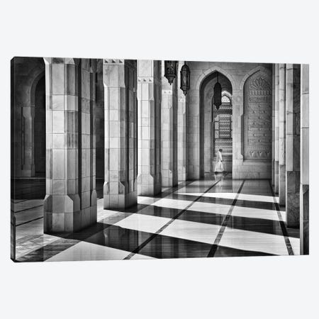Shadows In The Mosque Canvas Print #OXM3591} by Izidor Gasperlin Canvas Art Print