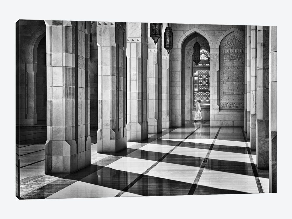 Shadows In The Mosque by Izidor Gasperlin 1-piece Art Print