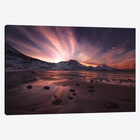 Northern Paradise Canvas Print #OXM3612} by Jaroslav Zakravsky Canvas Art