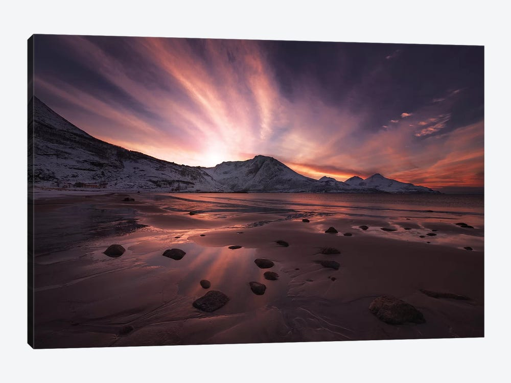 Northern Paradise by Jaroslav Zakravsky 1-piece Canvas Wall Art